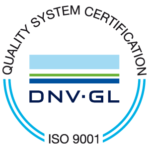 HAMANN AG maintains a ISO 9001 certified quality management system