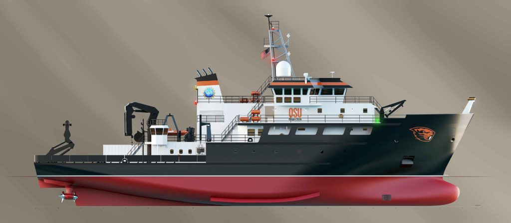 Regional Class Research Vessel equippend with HAMANN sewage and wastewater technology