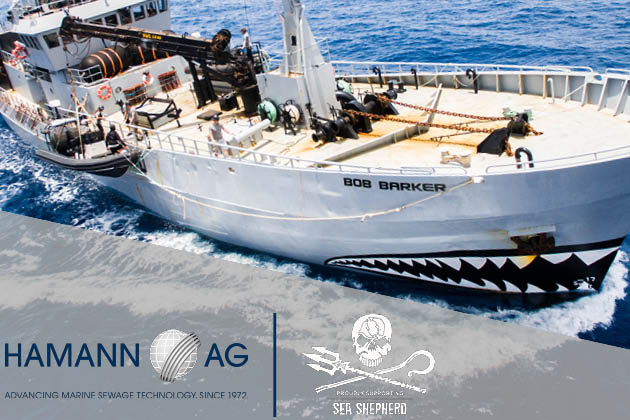HAMANN donates sewage treatment plant to SEA SHEPHERD