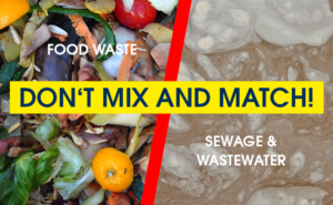 Food waste and wastewater handling onboard ships