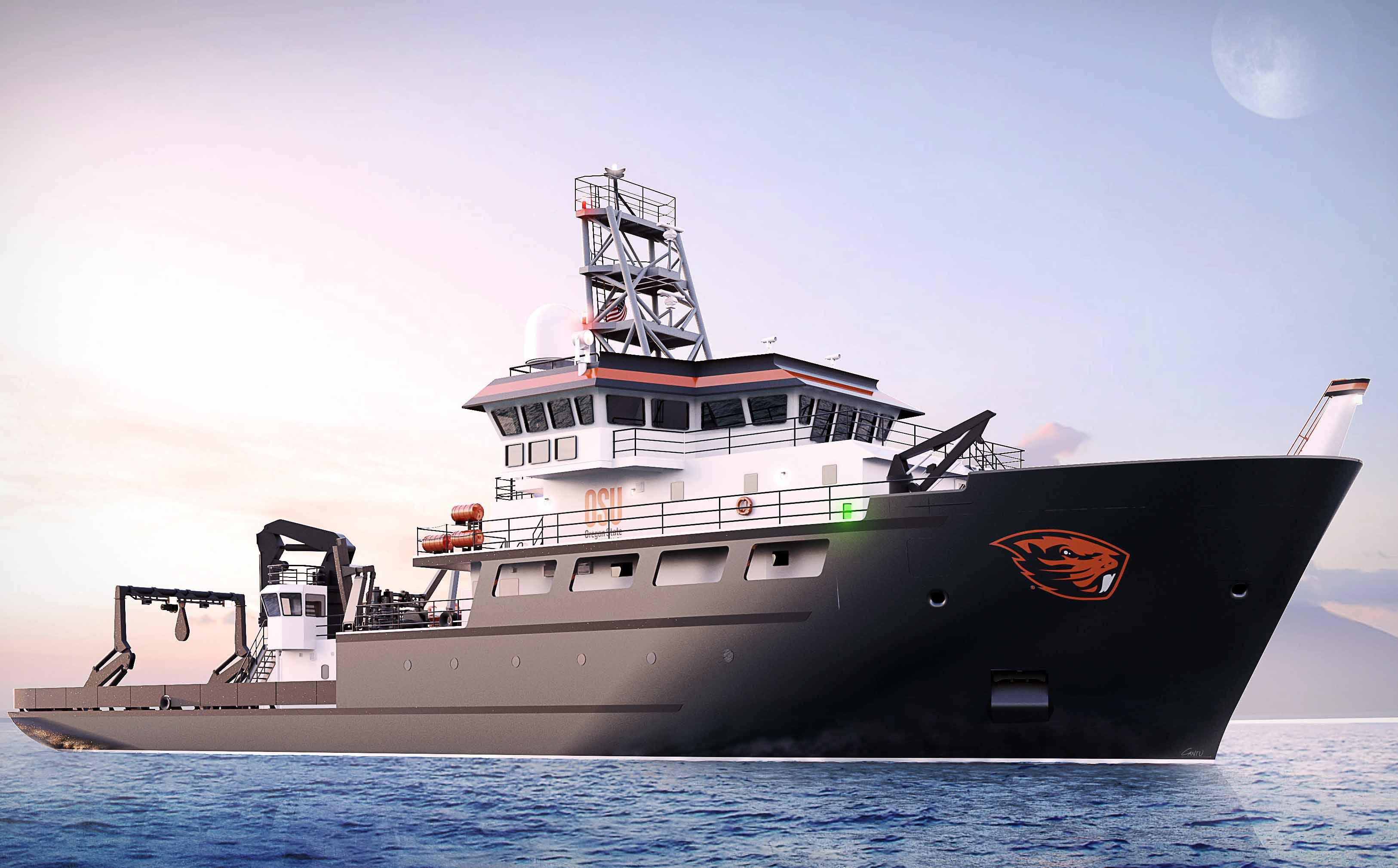 "US Forschungsschiff ""RCRV Taani"" mit HAMANN Abwassermanagementsystem"