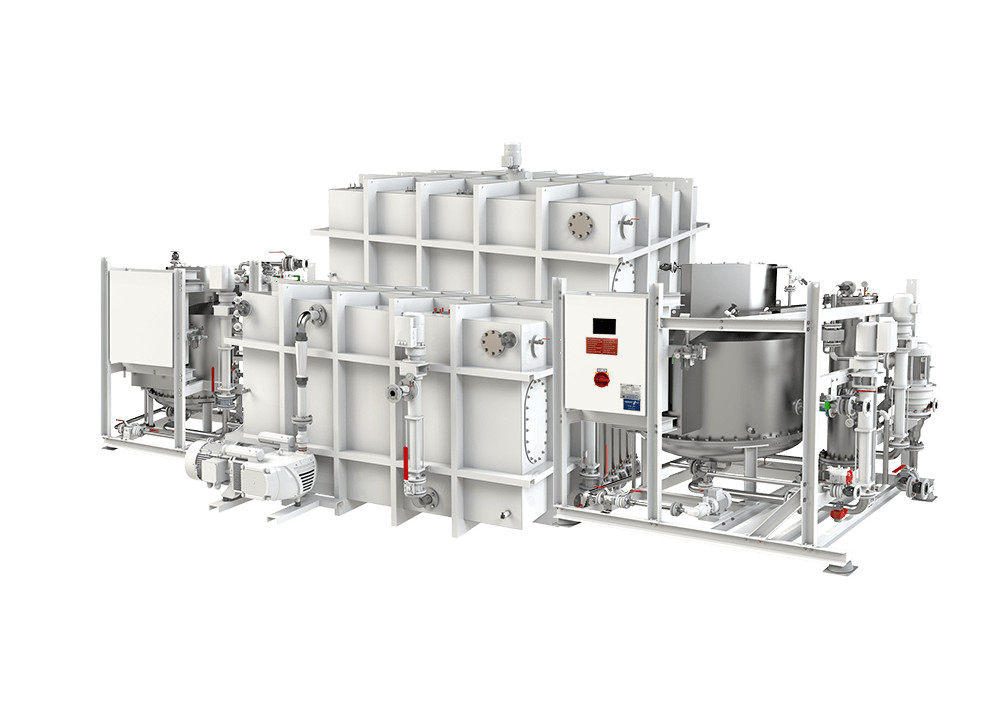 HAMANN HL-CONT PLUS OceanCruise advanced wastewater treatment system