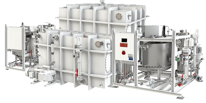 HAMANN HL-CONT PLUS OceanCruise advanced wastewater treatment for yachts